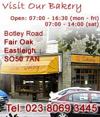 the oven door bakery unit 4 botley road, fair oak, SO50 7AN